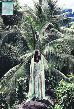 Into the jungle with Fashion Magazine, Summer 2014 issue, featuring a #RobertoCavalli look SS14!