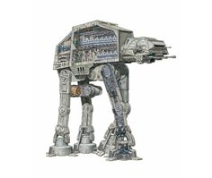 Las naves más icónicas de Star Wars ilustradas con todo lujo de detalles