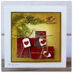 Rapport från ett skrivbord: 52 {Christmas} Card Throwdown