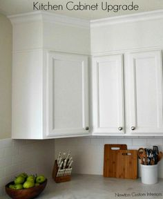 how to cut a kitchen cabinet in half
