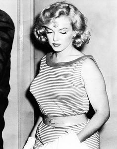 May 23rd 1957: Marilyn Monroe in Washington D.C to support husband Arthur Miller…