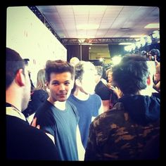 Louis and Niall on the Red Carpet for the Jingle Ball, 7.12.12