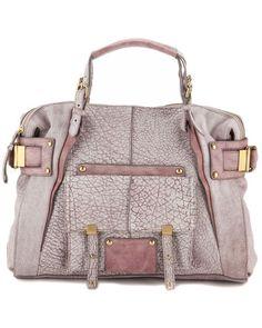 Kooba 'Barkley' Leather Satchel
