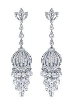 Neil Lane Carousel diamond briolette earrings