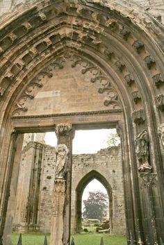 Saint Omer : ruines de l'église St Bertin. Nord-Pas-de-Calais