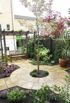 wide shallow garden design ideas Google Search Outdoor