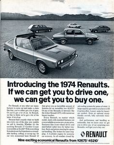 1974 Renault Advertising Road & Track March 1974 | by SenseiAlan