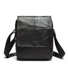 7d6f1df9cd0d TOP POWER Top Genuine leather Men Bag Brand Men Casual Shoulder Messenger  Crossbody Bags Shoulder Designer
