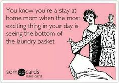 I'd love to see the bottom of the hamper again! Can't wait to go back to SAHM status! :-)
