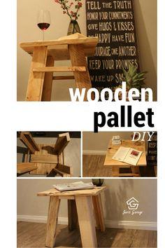 How to, Möbel aus Europaletten, Palettenmöbel, Beistelltisch, Tisch selber machen, Deko, Deko selber machen, DIY, Do it yourself, Upcycling, dekorieren, basteln, basteln, gestalten, Tisch bauen, Pallets,  selbermachen, selber machen