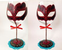 and Painted Wine Glass Party wedding birthday by AlenaShop, pink tiffany Personalized Hand Painted Wine Glass goblet Flute by AlenaShop, $16.20 Christmas candy collection birthday Personalized Hand Painted Wine Glass goblet Flute by AlenaShop, $32.00 animal print leopard hen party bachelorette table ideas flute wedding centrepiece favours bride groom theme idea dress gown beach colour scheme  Lolita bridal sweet 16th 40th 50th 30th 21st 50th birthday party girly neon bright gift venetian…
