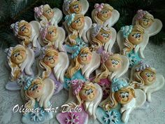 Salt Dough, Polymer Clay, Angel, Dolls, Cold Porcelain, Xmas, Deco, Baby Dolls, Puppet