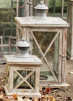 Pair 2 Two Pottery Barn Shop Lanterns Wood Glass Zinc Metal Candle Holders Metal Lanterns, Lanterns Decor, Hanging Lanterns, Candle Lanterns, Rustic Lanterns, Hanging Lights, Farmhouse Style Furniture, Rustic Furniture, Metal Candle Holders