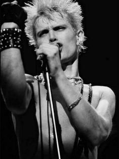 Billy Idol - with a rebel yell! Banned from church dances!! Lol
