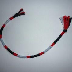 Atebas amovible / noir rouge bleu rose 31 cm