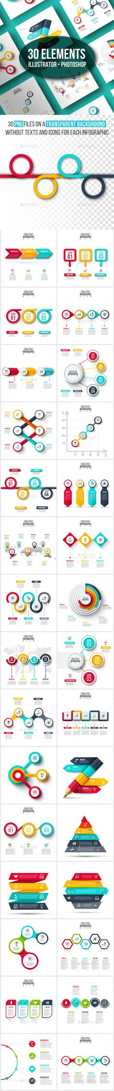 Creative infographic pack v.01 - #Infographics