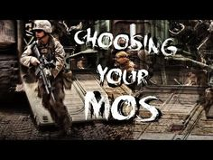 Choosing your Military Occupational Specialty (MOS) - YouTube