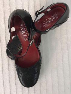 52025f7f602 Franco Sarto Ladies Sandal Heel Size 6.5M  fashion  clothing  shoes   accessories