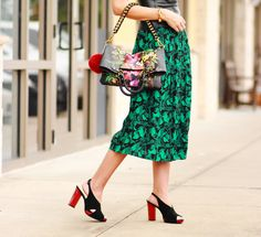 Belle de Couture: Fearless Fall Style w/ #ElliottLucca #prints #fallstyle #vintage #color