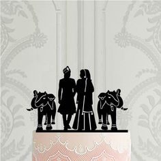 Hindu wedding cake topper with elephant Indian wedding decor Hindu wedding wedding stage Wedding Reception Decorations Elegant, Simple Church Wedding, Indian Wedding Decorations, Cake Decorations, Gay Wedding Cakes, Indian Wedding Cakes, Floral Wedding Cakes, Bride And Groom Silhouette, Wedding Silhouette
