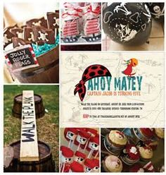 Image detail for -Pirates & Princesses Birthday Party Ideas LOVE walking the plank idea!