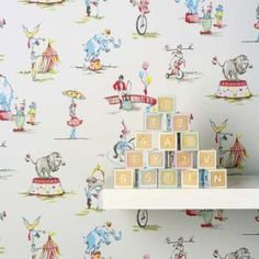 This is wallpaper but Id love to find a couple of yards of this as a fabric.