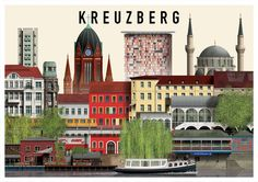 Berlin Illustrations Martin Schwartz Kreuzberg