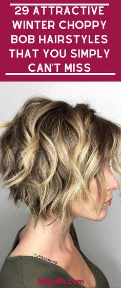 29 Attractive Winter Choppy Bob Hairstyles that You Simply Can't Miss 29 Attractive Winter Choppy Bob Hairstyles that You Simply Can't Miss Cute Bob Haircuts, Pixie Bob Hairstyles, Popular Short Hairstyles, Quick Hairstyles, Flapper Hairstyles, Medium Hair Styles, Short Hair Styles, Shoulder Hair, Hair Trends