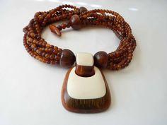 Gerda Lynggaard for Monies Horn Necklace by Vintageby1980sExcess, $125.00 #vjse