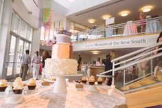 The NotWedding Charlotte                                      Venue: Levine Museum of the New South                     Photography by LaCross Photography     Cake by Sugar Euphoria                               Cookie Bar: Yumsies Cookies and Confections