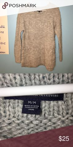 american eagle oversized sweater super adorable & looks great with leggings or skinny jeans!! American Eagle Outfitters Sweaters