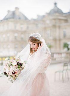 Bouquet by Floraison Wedding in Paris パリウェディングフォト