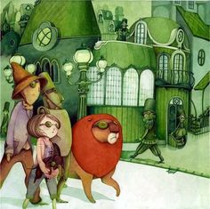 modern Wizard of Oz art
