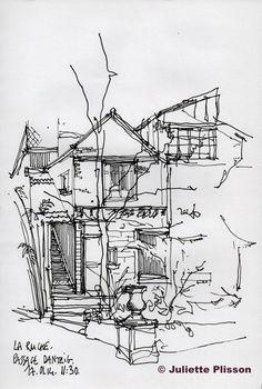 Ce 17 janvier, j'avais rendez-vous avec Bénédicte Klène et Fleur pour dessiner à la Ruche, un ensemble d'atelier d'artistes, un end...