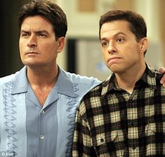 Two and a Half Men with Charlie Sheen...NOT Ashton Kutcher