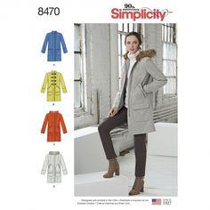 8470 - Coats & Jackets - Simplicity Patterns