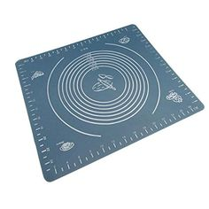 ASDOMO Large Massive Pastry Fondant Silicone Work Rolling Baking Mat BLUE 1 >>> Find out more about the great product at the image link.