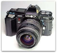 Minolta Maxxum 7000. ::: the worlds first autofocus camera. (1985) this camera recorded many moments with the most important person in my life.