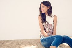 #esprit #womenswear #paisleys #denim #ootd