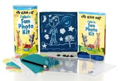 Sun Photo Kit for kids is super cool - makes 9 prints.