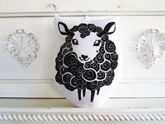 Plush Black Sheep BY LAURA FRISK