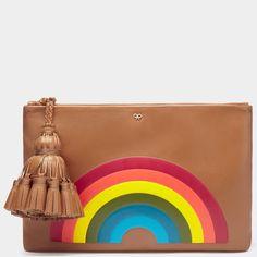 Rainbow Georgiana Clutch