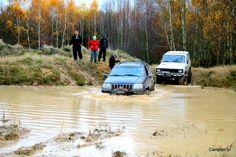 Jeep WJ water