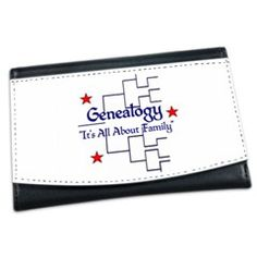 "Family Tree Chart Mini Wallet > ""It's All About Family"" > Genealogy Store USA"