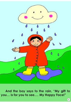 Story Book: Boy with a Happy Face – Fun Teacher Files Small Stories For Kids, English Stories For Kids, Moral Stories For Kids, English Lessons For Kids, Kids English, Reading Story Books, Kids Story Books, Books For Boys, Art Activities For Kids