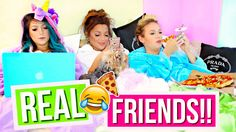 Yay for best friend collabs with Niki and Gabi!! Fake friends vs real friends is a thing right?? Who else can relate to dealing with fake and real friends? E...