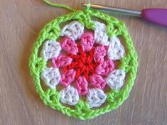 HaakKamer7: Doily patroon Crochet Motif, Crochet Hats, African Flowers, Chrochet, Doilies, Pot Holders, Blanket, Knitting, Diy