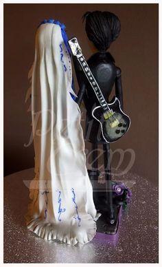 La novia cadáver. Porcelana fría