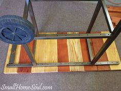 Make a Patio Cart from an Old BBQ - Small Home Soul