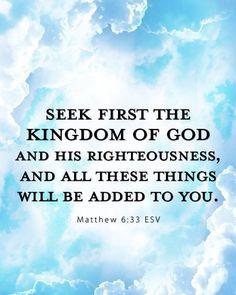 #bibleverseoftheday #scripture #Matthew633 #truth #faith #walkbyfaithnotbysight #inspiration by thereal_yesenia
